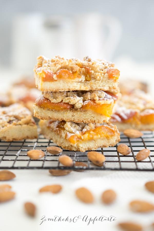 Aprikosen-Streusel-Kuchen - ganz easy vom Blech