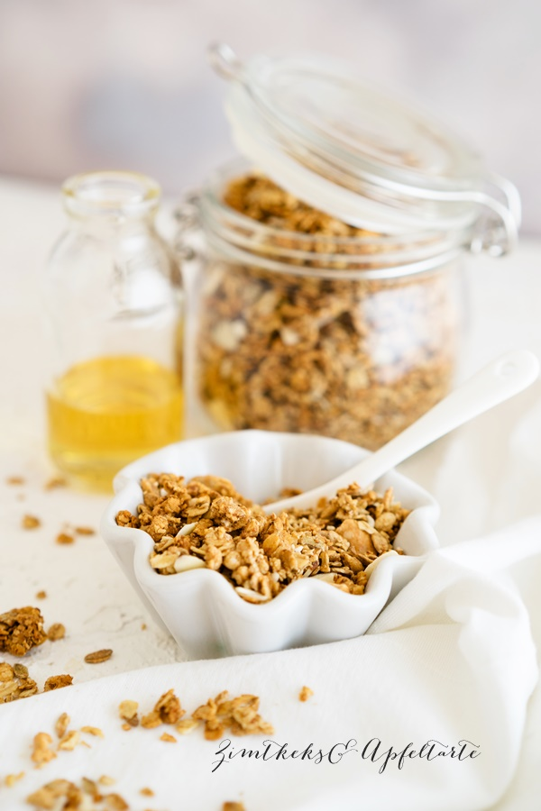 Kokos-Granola - Kokos-Knusper-Müsli ohne Kristallzucker