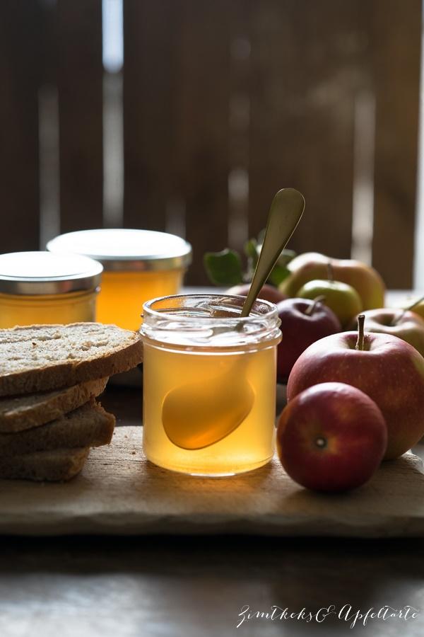 Köstlich backen mit Äpfeln - Andrea Natschke-Hofmann - ZimtkeksundApfeltarte.com - Apfelgelee