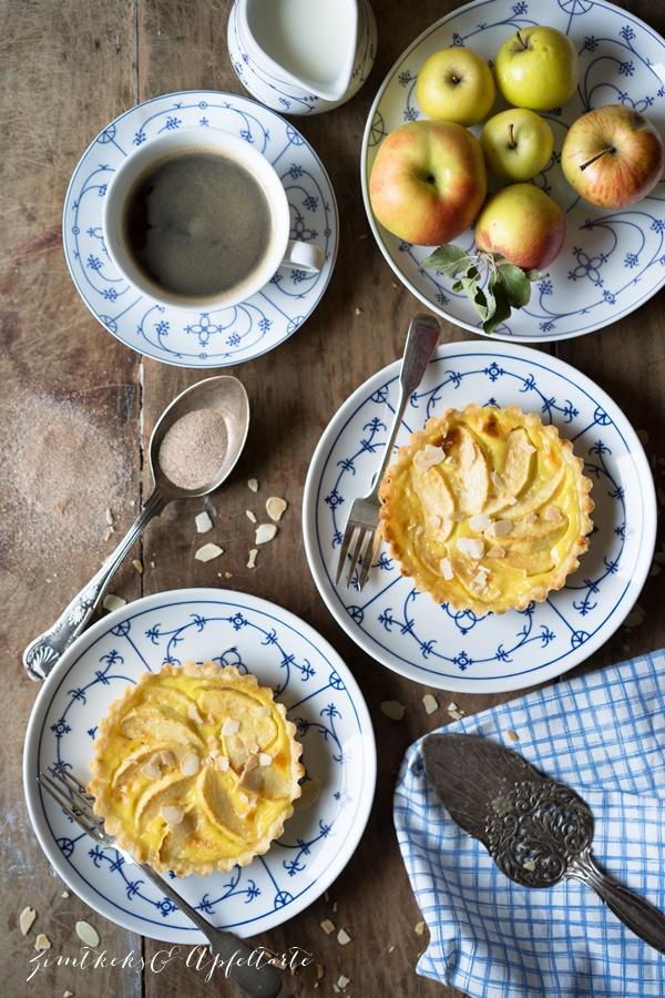 Köstlich backen mit Äpfeln - Andrea Natschke-Hofmann - ZimtkeksundApfeltarte.com - Apfel-Tartelettes