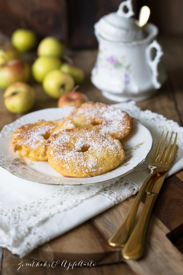 Köstlich backen mit Äpfeln - Andrea Natschke-Hofmann - ZimtkeksundApfeltarte.com - Apfelküchlein