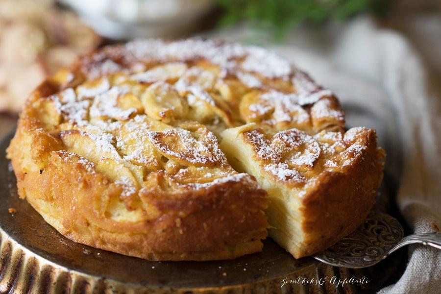 Einfaches Rezept: Französischer Apfelkuchen