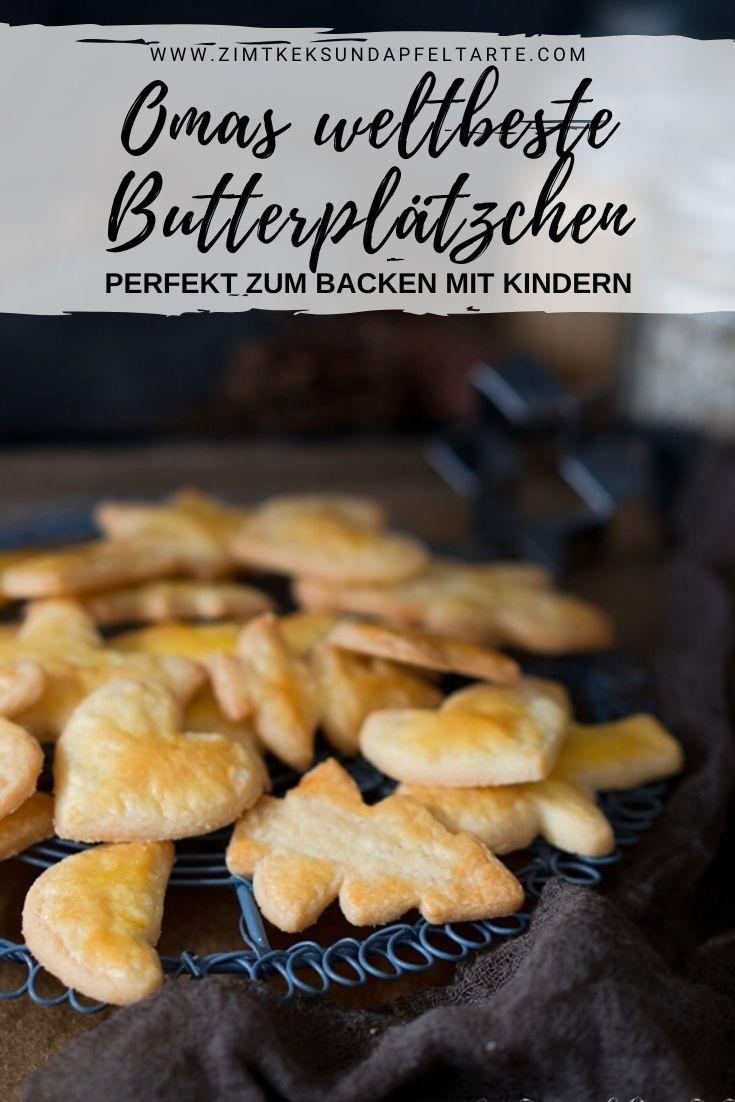 Klassisches Buttergebäck - Omas gelingsicheres Rezept für Butterplätzchen - einfach und gut Rezept von ZimtkeksundApfeltarte.com