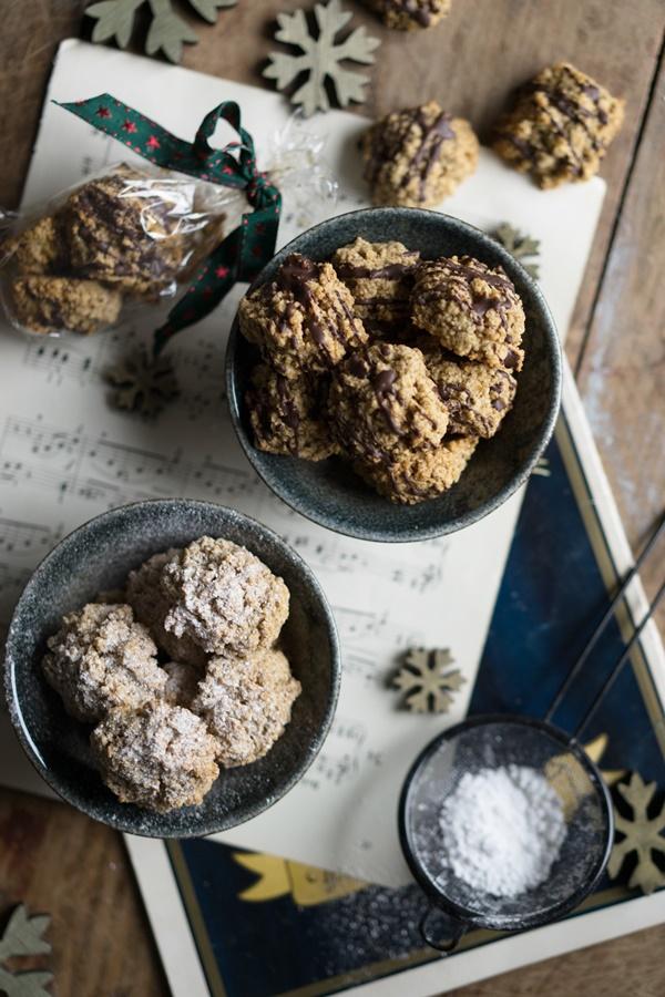 Zimt-Haferflocken-Cookies - glutenfrei und kristallzuckerfrei