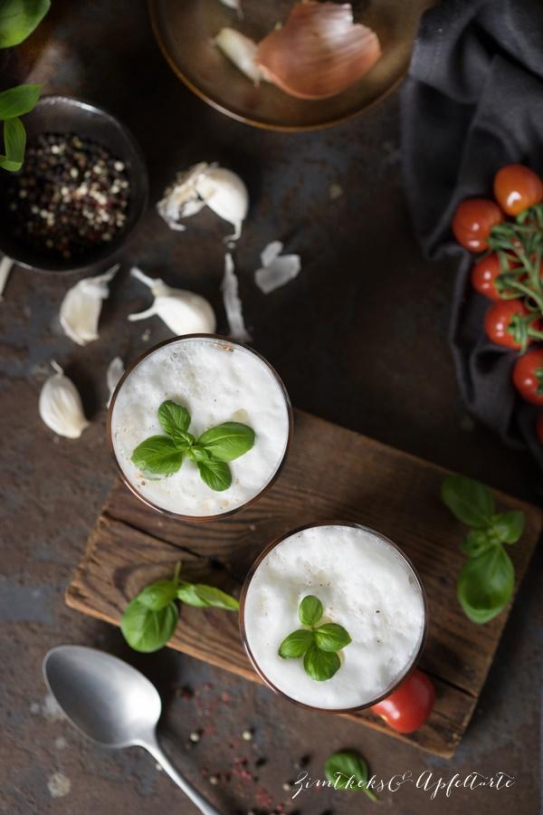 Tomaten-Cappuccino Blitzrezept - in wenigen Minuten fertig und sehr lecker!