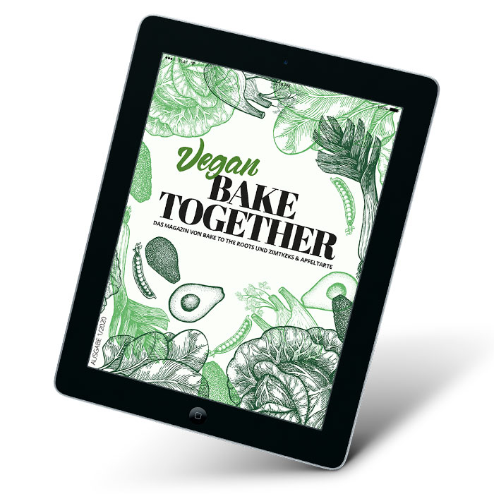 BAKE-TOGETHER VEGAN E-BOOK