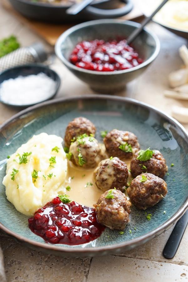Schwedische Köttbullar mit Rahmsauce - ganz einfach und gelingsicher
