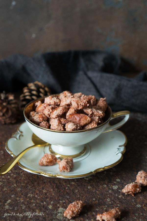 Gebrannte Mandeln - ganz einfaches Rezept zum selber machen