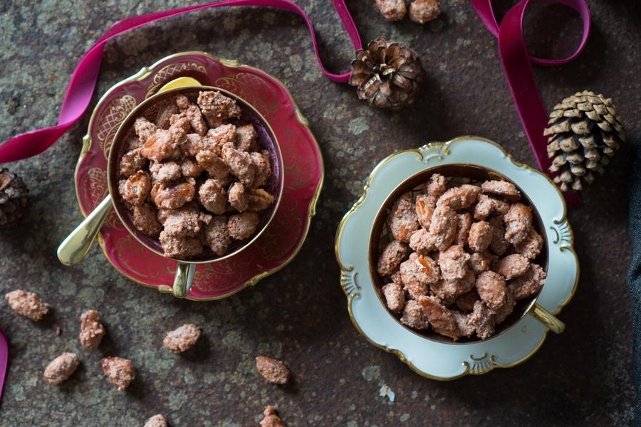 Rezept für gebrannte Mandeln - ganz einfach selbst gemacht!