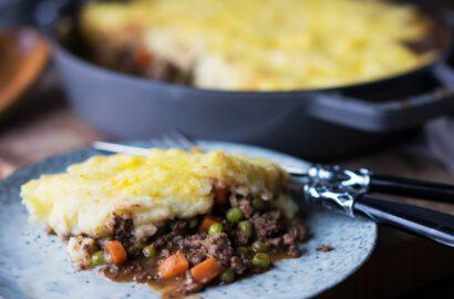 Rezept Sheperd's Pie - Hackfleischauflauf mit Kartoffelhaube