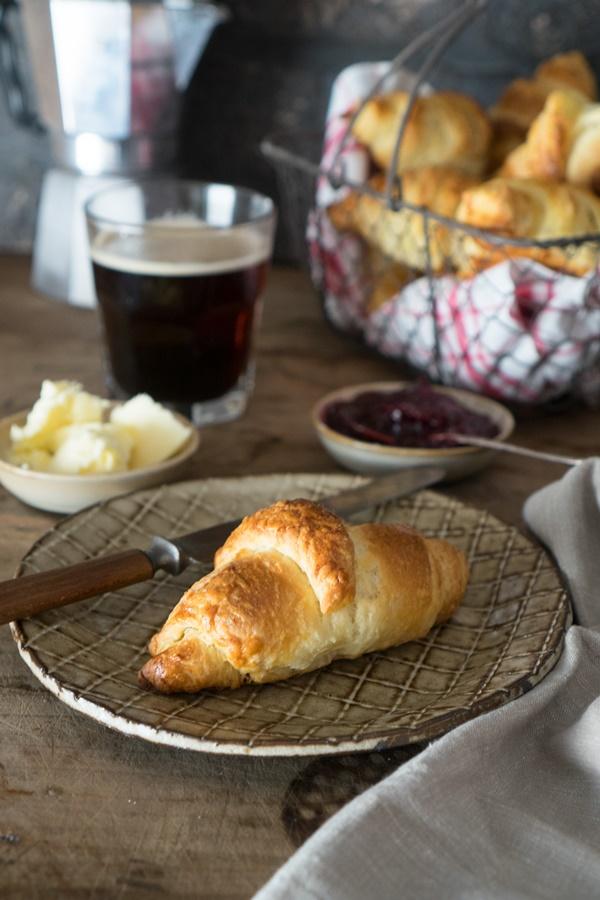 buttrige Croissants ganz einfach selber backen
