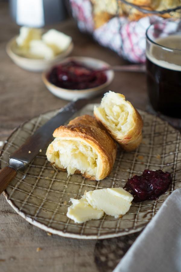 Rezept für Buttrige Croissants zum selber backen