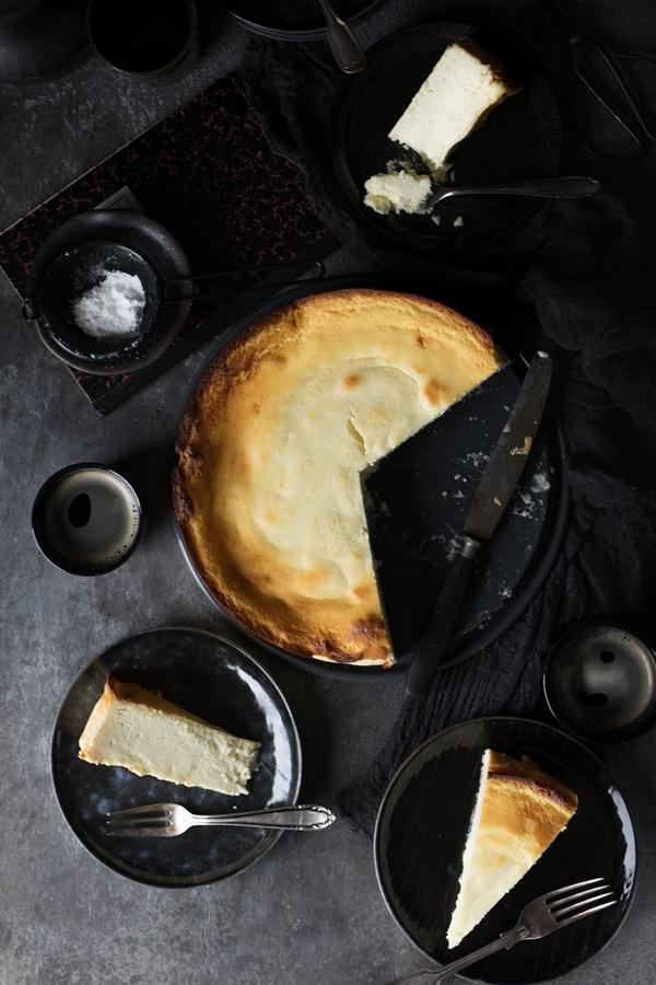 Super lecker: Omas Rezept für cremigen Käsekuchen ohne Boden - einfach und gelingsicher