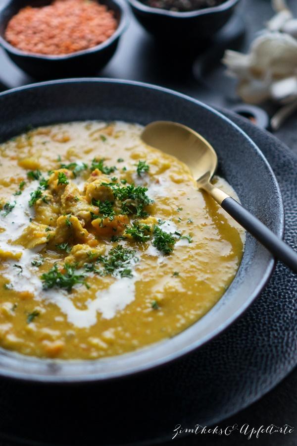 Gelingsicheres Rezept Mulligatawny Suppe - indische Currysuppe - lecker und einfach