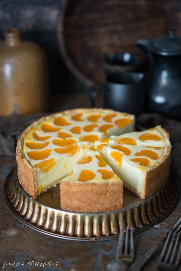 Gelingsicheres Rezept für Schmandkuchen mit Mandarinen oder Faule Weiber Kuchen