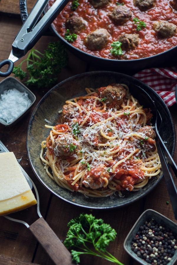 Spaghetti and Meatballs – Blitzrezept für Fleischbällchen in Tomatensauce