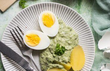 Einfaches gelingsicheres Rezept für Frankfurter Grüne Soße - Grie Soß