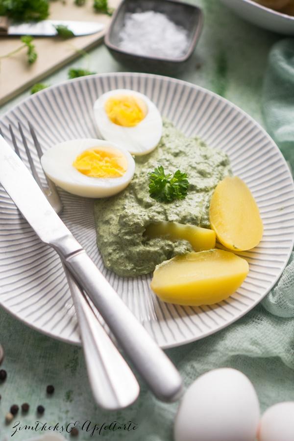 Meine beste Frankfurter Grüne Soße - Grie Soß' - einfaches, gelingsicheres Rezept