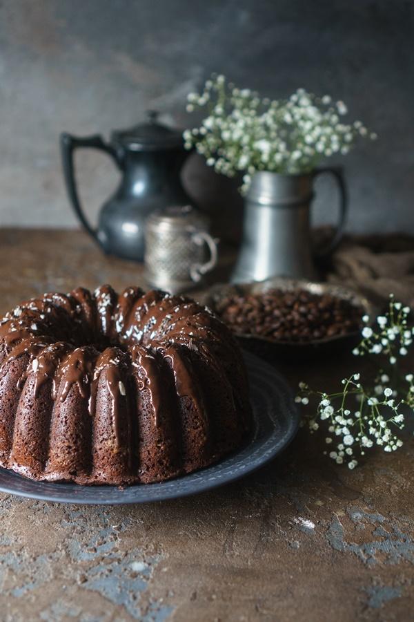 Saftiger Schokoladen-Espresso-Kuchen - Zimtkeks und Apfeltarte