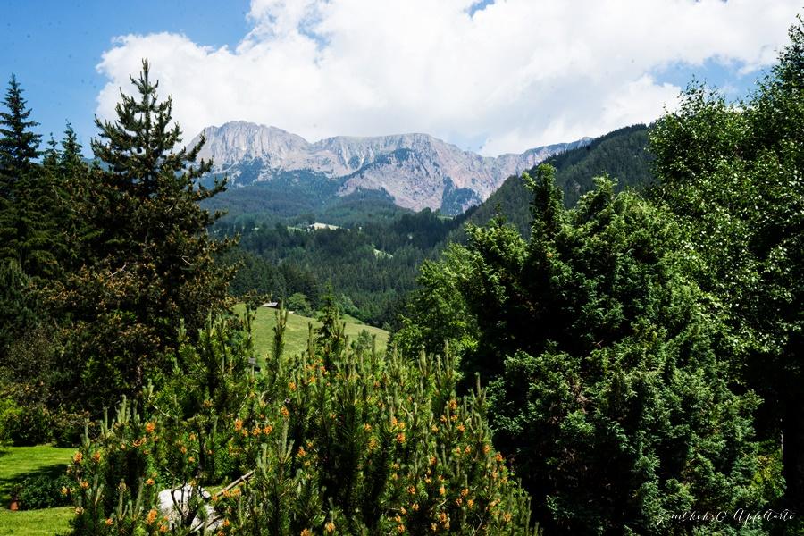 Eine Woche Workation im wunderschönen Südtirol Blick von Bad Schörgau im Sarntal