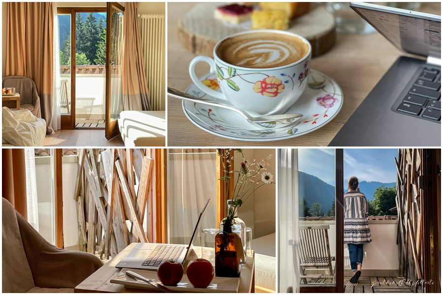 Eine Woche Workation im wunderschönen Südtirol - Zimmer Bad Schörgau