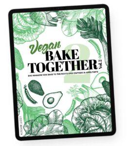 BAKE TOGETHER VEGAN E-BOOK Vol. 2