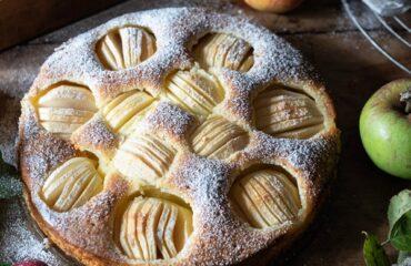 Rezept für versunkener Apfelkuchen sehr fein